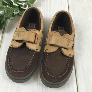 Sperry's Toddler TopSiders Boat Shoes 11W